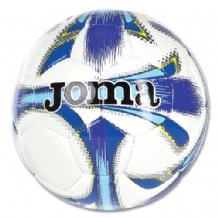 JOMA Dali Soccer Ball White/Navy  (Choice of Sizes + Discounts on Multiple Balls ordered)